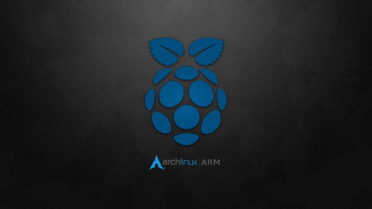 Arch Linux ARM wallpaper.