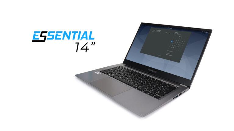 "Slimbook Essential 14"" Linux laptop"