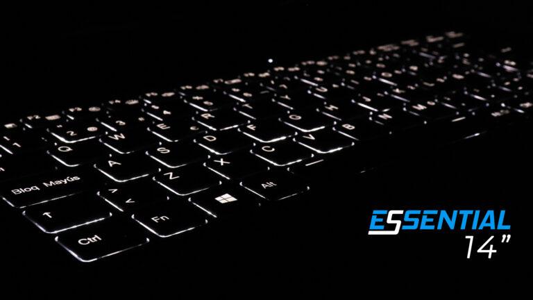 "Slimbook Essential 14"" backlit keyboard"