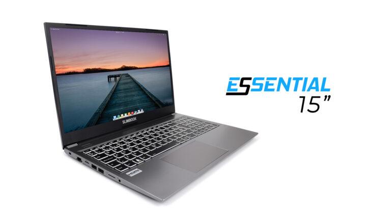 "Slimbook Essential 15"" Linux laptop"
