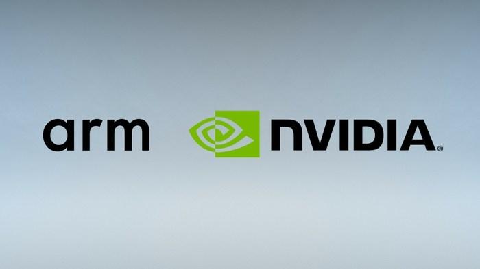 ARM and NVIDIA logos