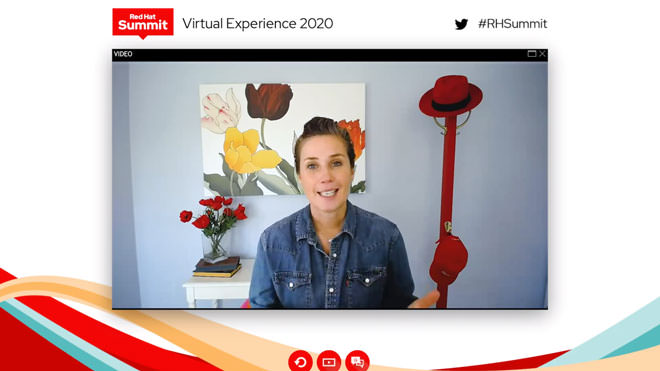Red Hat Summit 2020 virtual event.