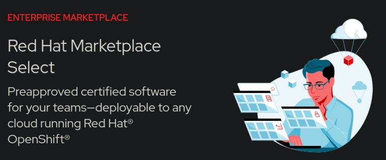 Red Hat Marketplace Select artwork.