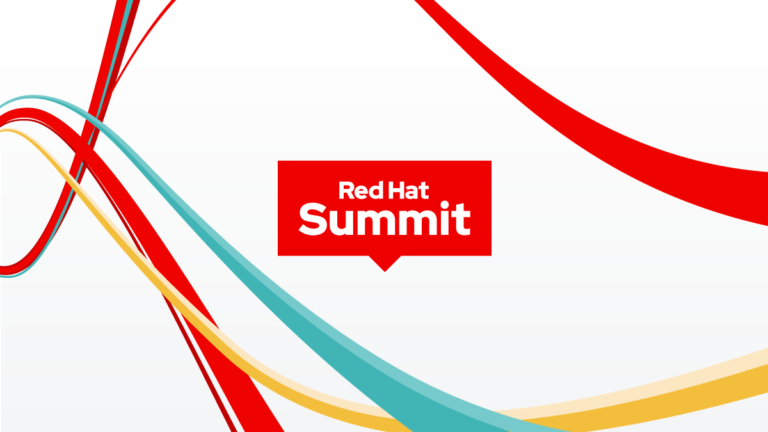Red Hat Summit 2020 artwork.