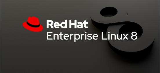 Red Hat Enterprise Linux 8 banner.