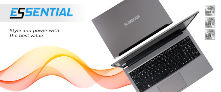 Slimbook Essential Linux laptops side by side