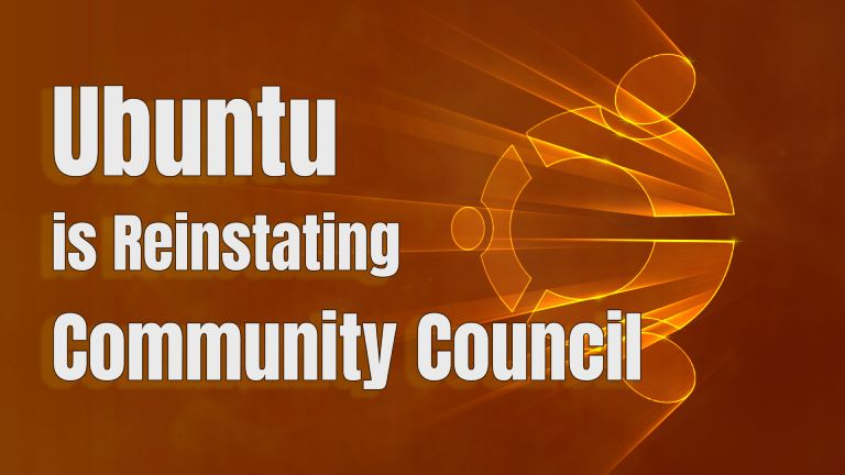 Ubuntu Community Council To Be Reinstated
