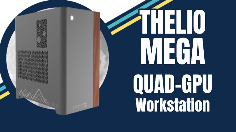 Thelio Mega From System76: The World's Smallest Quad-GPU Workstation