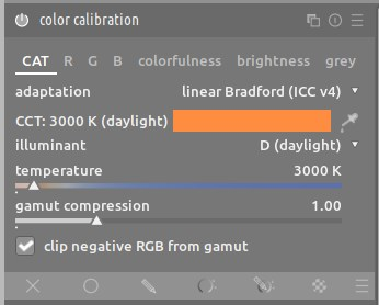 color calibration tool dialog