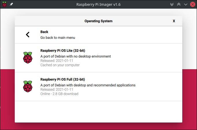 Raspberry Pi OS Lite Installation