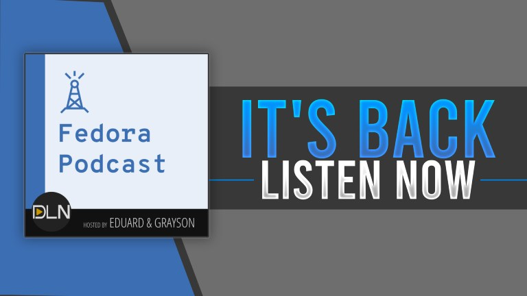 Fedora Podcast Has Returned With The Destination Linux Network