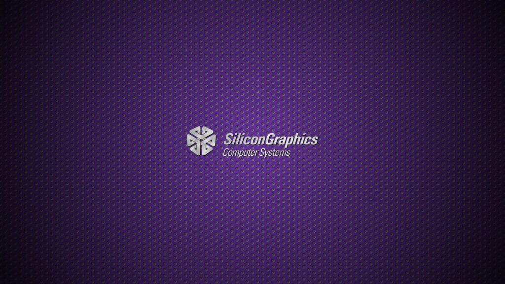 The original Silicon Graphics (SGI) logo.
