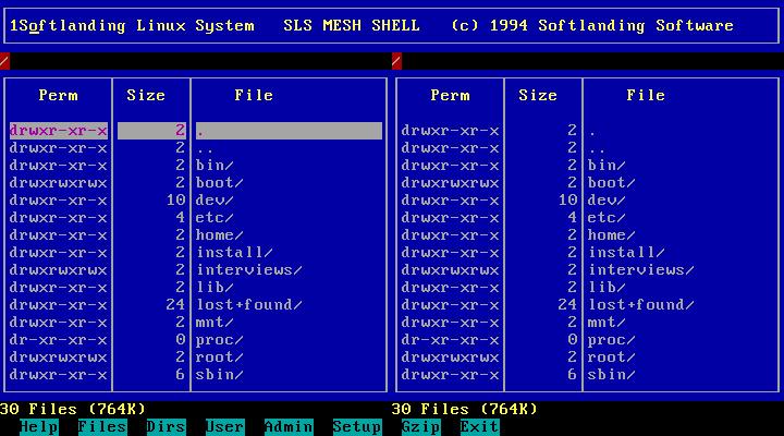 Softlanding Linux System.