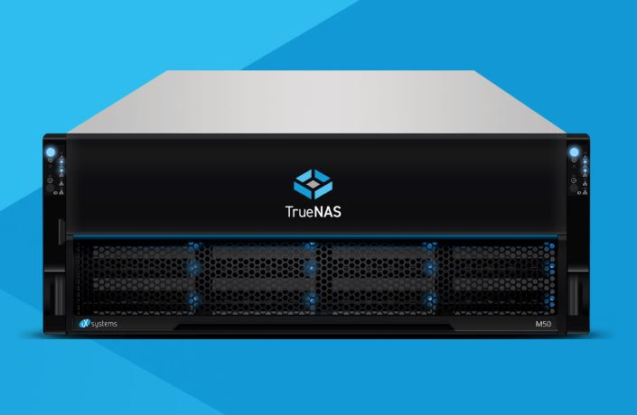 The TrueNAS M60 storage appliance.
