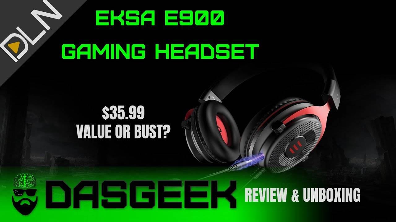 $35 EKSA E900 Gaming Headset vs Kingston HyperX Cloud Stinger Core