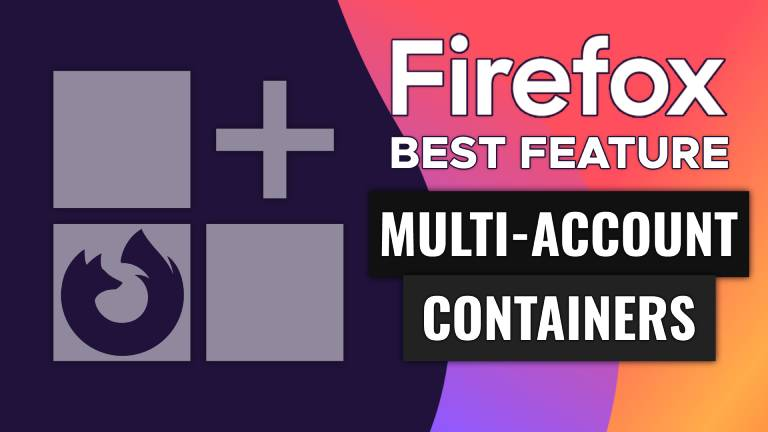 How To Use Firefox's Multi-Account Containers (BEST Feature in Firefox!)