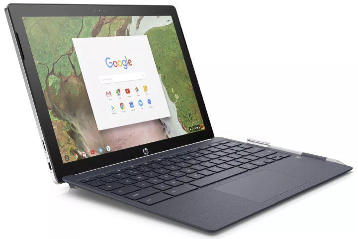 ChromeOS on an HP Chromebook. (Credit: JR Raphael)