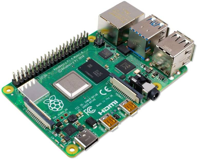 Raspberry Pi 4, the latest iteration