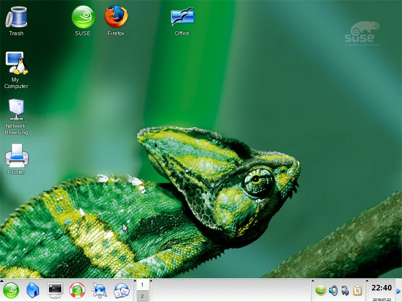SUSE Linux 10.0, which would become openSUSE