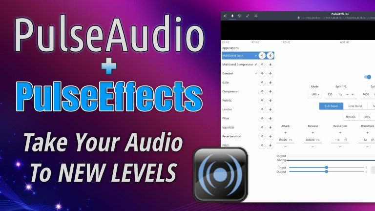 PulseAudio & PulseEffects Takes Linux Audio to New Levels