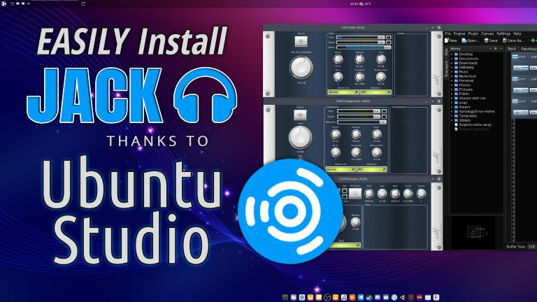 Link to the JACK Audio on Ubuntu Studio tutorial.