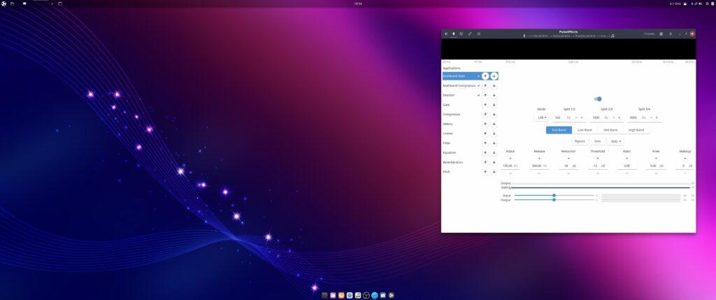Ubuntu Budgie 20.04 with PulseEffects