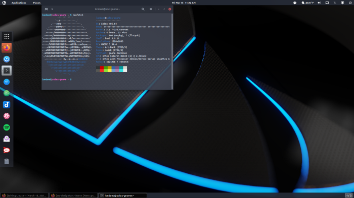 Ikey's Solus, one of my favorite distributions out there.
