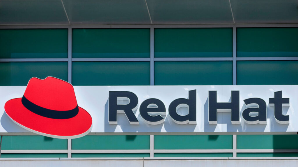 The official Red Hat logo.
