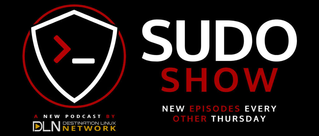 A banner for the Sudo Show with the official logo.