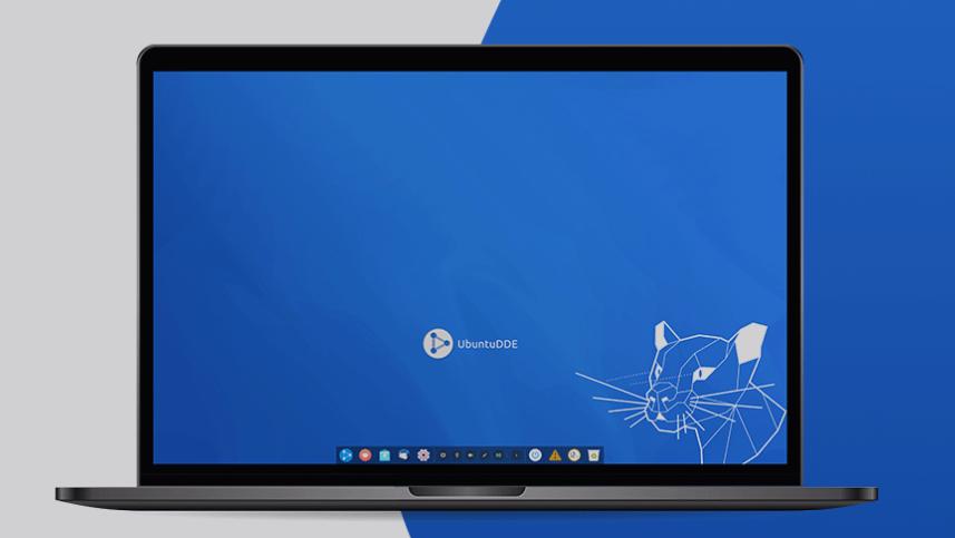 The UbuntuDDE Remix desktop featuring DDE 15